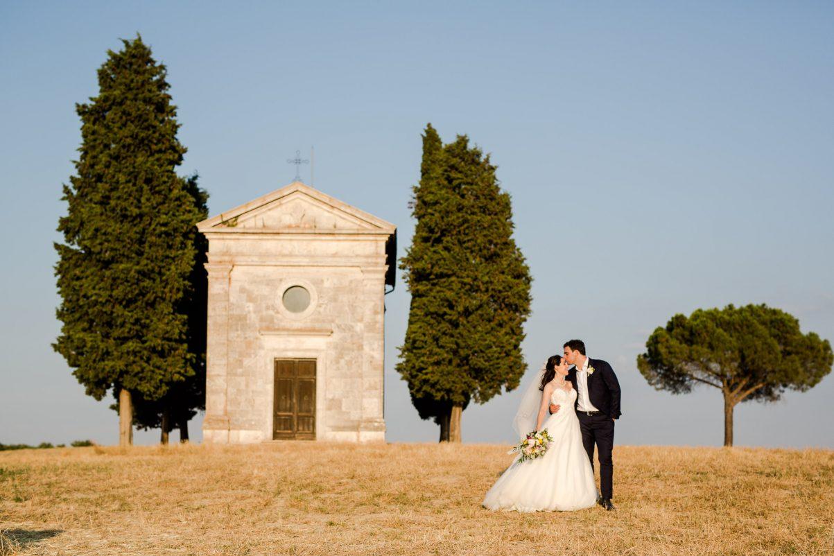 Wedding in Valdorcia