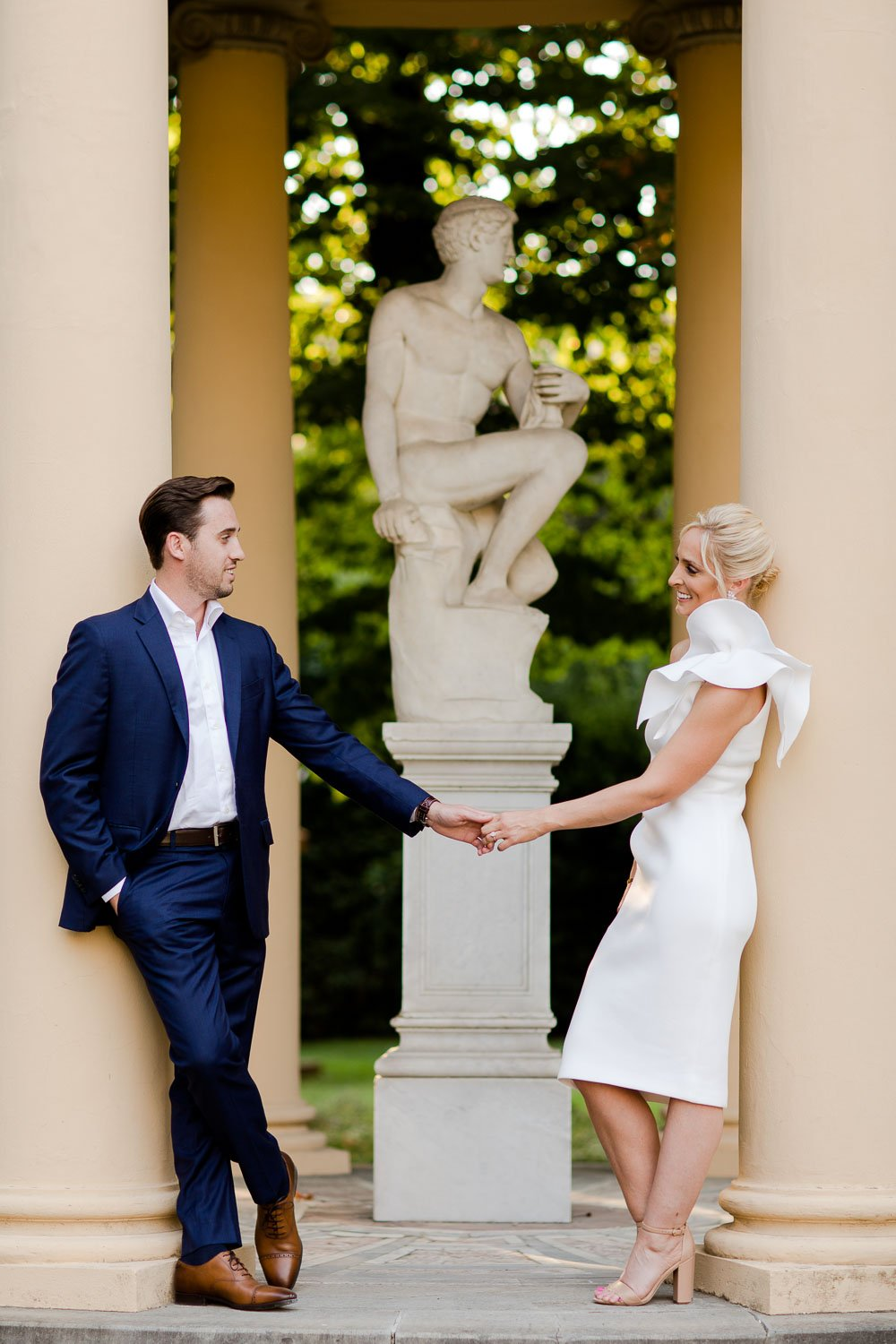 Engagement photography in Fourseasons Florence