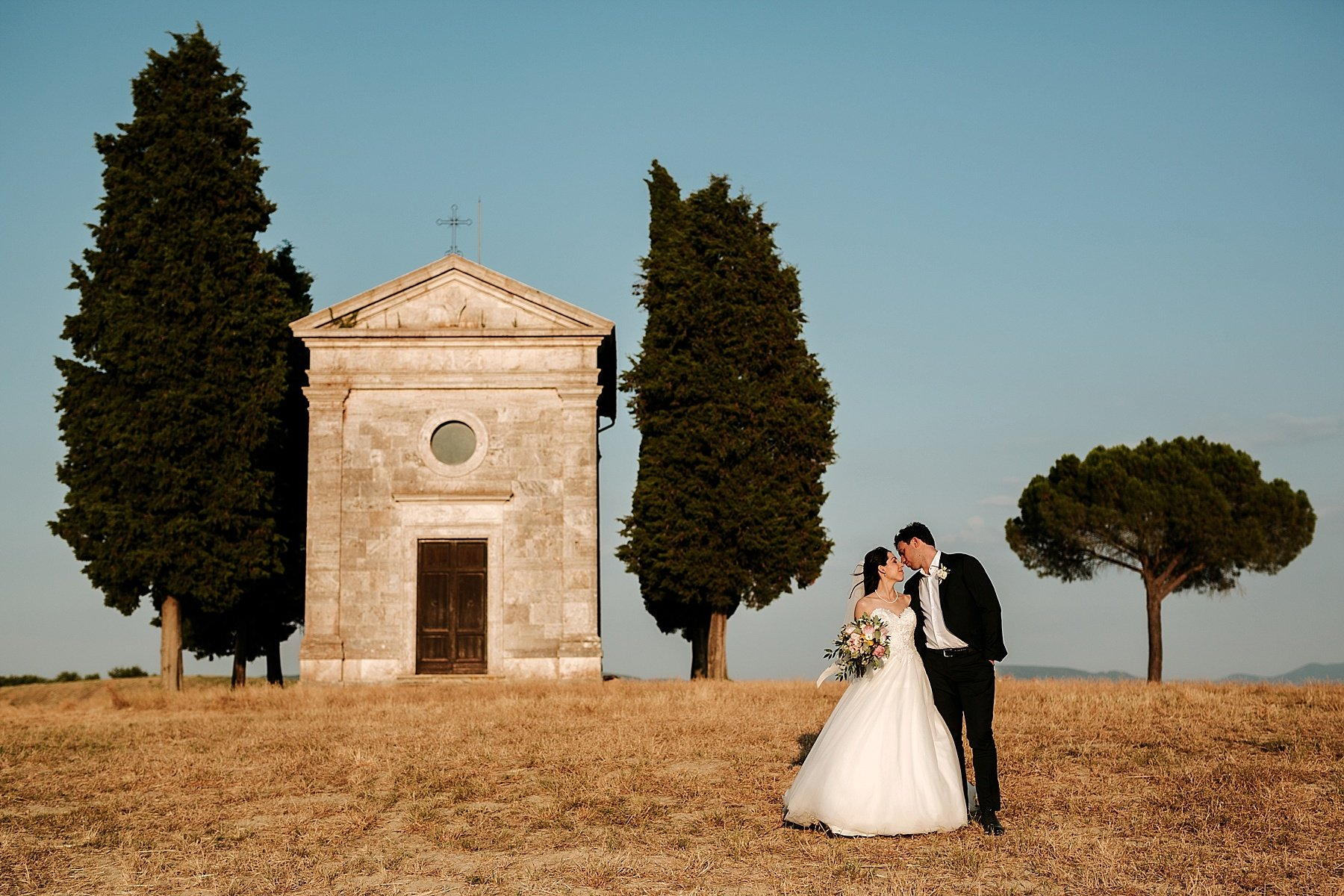 Wedding in Val d'Orcia Tuscany